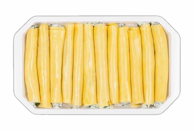 Cannelloni di pasta Vegetariani