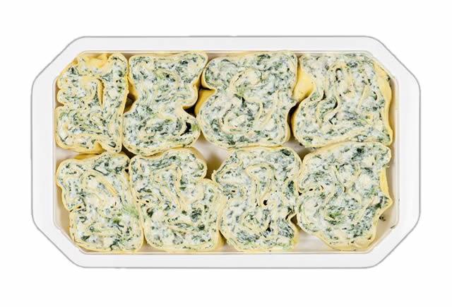 Rotoli di pasta Vegetariano