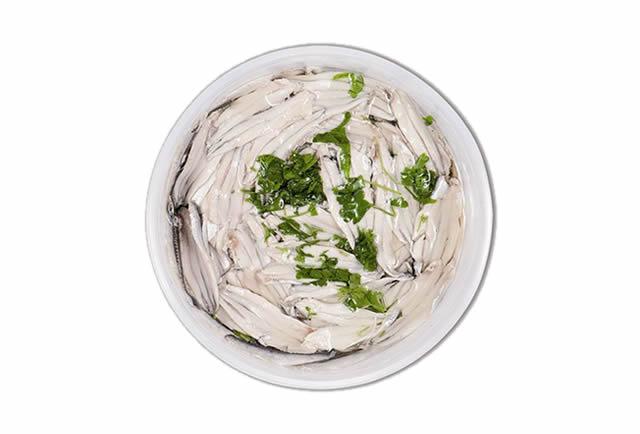 Filetti di alici marinate in olio