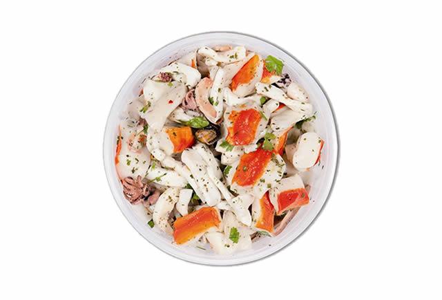 Antipasto di mare senza verdure Veliero