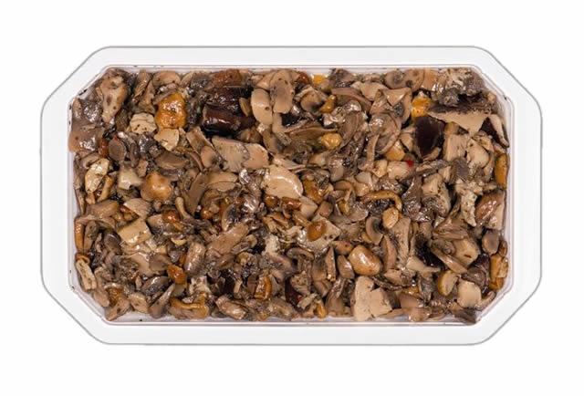 Mix di funghi con porcini