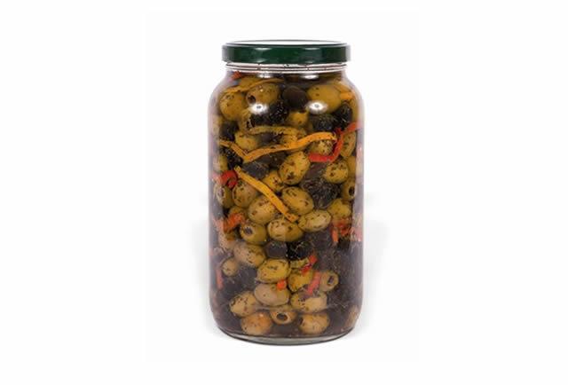 Olive Mix Italia denocciolate in olio