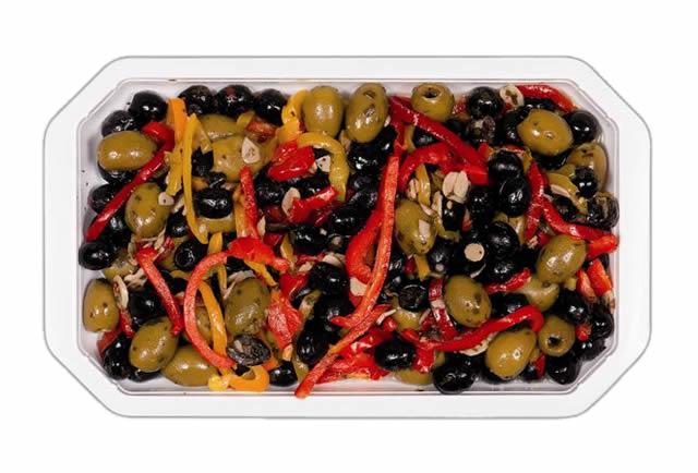 Olive mix Italia denocciolate