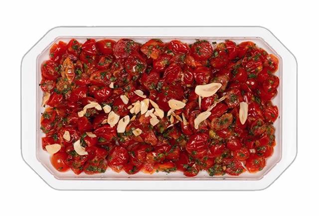 Pomodori ciliegini conditi