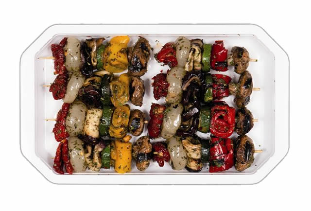 Spiedini di verdure grigliate