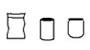 Confezioni busta latta vaso