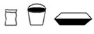 Confezioni busta secchiello vaschetta