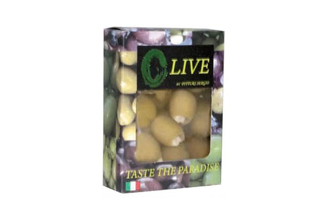 olive farcite alla mandorla in salamoia