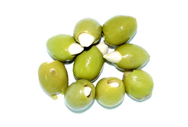 olive farcite alla mandorla